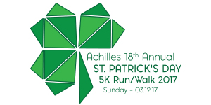 Achilles St. Patrick's Day 5k Race